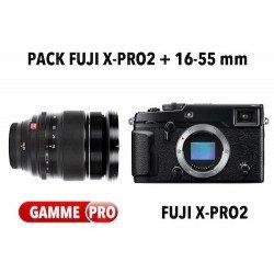 Pack Fuji X-Pro2 + 16-55mm f/2.8 R -WR