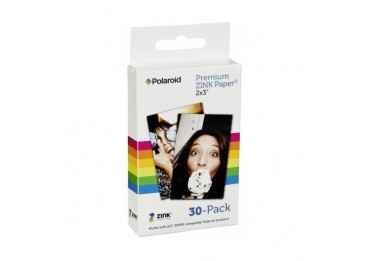 """Papier photo pour Polaroid Snap, Zip, Socialmatic, Z2300 et Prynt Case - 30 feuilles 2""""x3"""""""