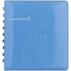Album Photo Fuji Instax bleu - 64 vues VENTE