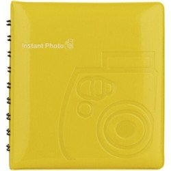 Album Photo Fuji instax jaune - 64 vues VENTE