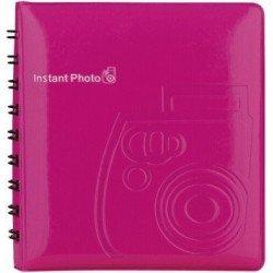 Album Photo Fuji Instax rose - 64 vues Flash Canon