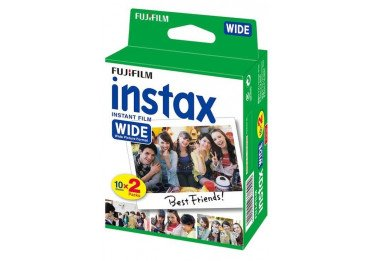 Film Instax Wide - Pack de 20 poses Wide - Fuji Film Instax Wide Film pour Fuji Instax