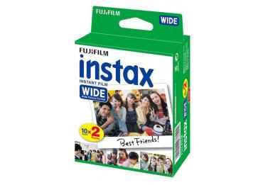 Film Instax Wide - 20 poses couleur VENTE