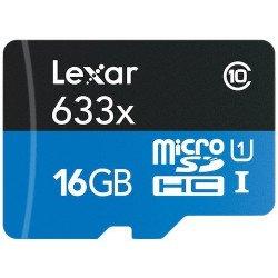 Carte Lexar microSDHC 16 GB Class 10