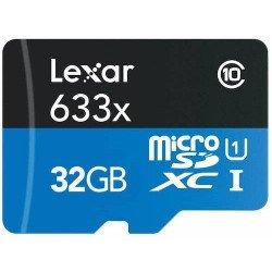 Carte Lexar microSDHC 32 GB Class 10