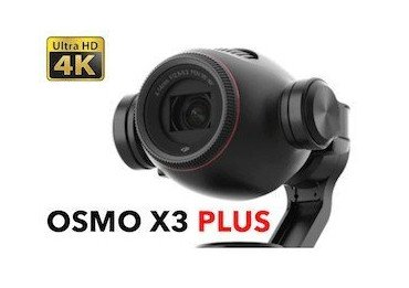 Dji Osmo+ (Osmo plus) X3 - Caméra avec zoom 22-77 mm - OCCASION OCCASIONS