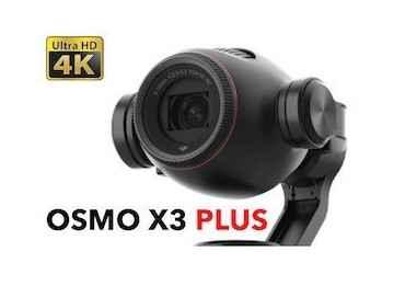 Dji Osmo+ (Osmo plus) X3 - Caméra avec zoom 22-77 mm Osmo X3 & X5