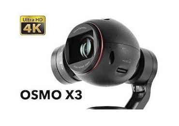 Dji Osmo X3 Caméra 4k Osmo X3 & X5