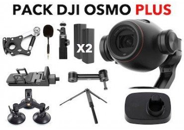 Pack Dji Osmo+ (Osmo plus) avec zoom + Pack sport Osmo X3 & X5