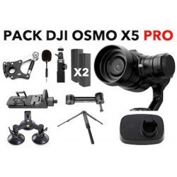 Pack Dji Osmo X5 Pro + Pack sport