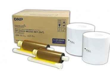 Papier photo DNP DS80DX 20x30cm -110 tirages recto / verso DNP DS820