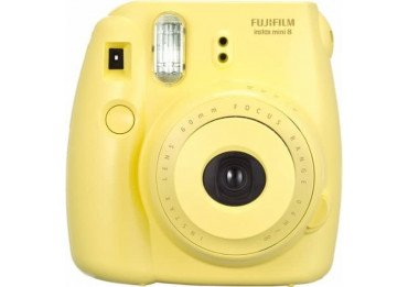 Location Fuji Instax Mini 8 Jaune - appareil photo instantanée à Lyon Pack Instax Mini 8