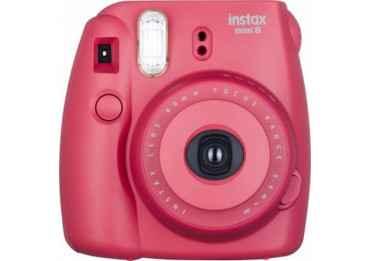 Fujifilm Instax Mini 8 Rouge - appareil photo instantanée Pack Instax Mini 8