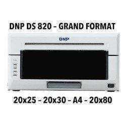 DNP DS820 Imprimante photo - Sublimation Thermique - 20x25, 20x30 & A4