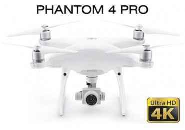 Drone Dji Phantom 4 Pro - Nécéssite une licence de vol Accueil