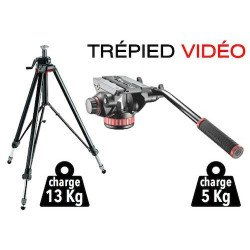 Location Trépied Manfrotto 058b + tête video