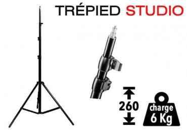 Trépied d'éclairage wT-806 / 260 cm - 6 kg Pied Studio