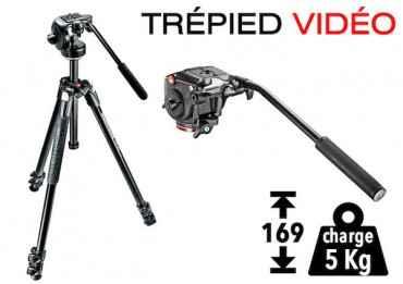 Trépied vidéo Manfrotto MK290XTA3-2W Trépied vidéo