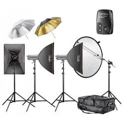Kit Flash Studio Excellence 1100 watts - 4.4.3 - walimex pro