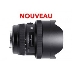 Sigma 12-24 mm F4 DG HSM - Art - Objectif photo monture Canon