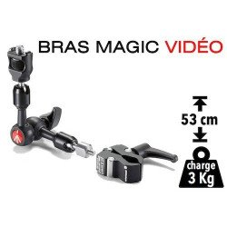 Bras Magic à friction Manfrotto 244 micro Fixation & Accessoire
