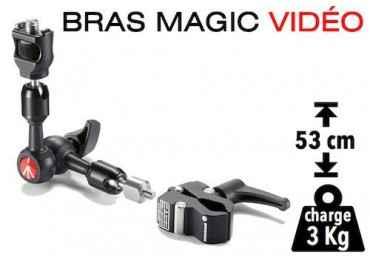 Bras Magic à friction Manfrotto 244 micro Fixation & Accessoire