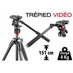 Trépied Vidéo Manfrotto BeFree - compact et léger (aluminium) Accueil
