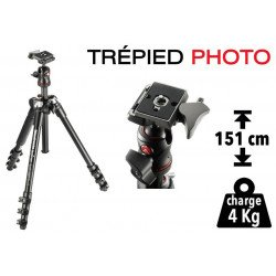 Trépied Photo Manfrotto BeFree - Voyage Trépied Photo