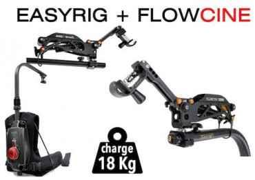 Easyrig + Flowcine 1-18 KG - Support pour stabilisateur et caméra vidéo Easyrig & Flowciné