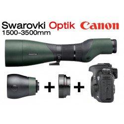 Optique Swarovski 1500-3500 mm + Kit Reflex Canon