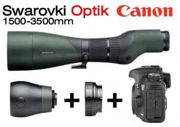 Optique Swarovski 1500-3500 mm + Kit Reflex Canon A-PSC