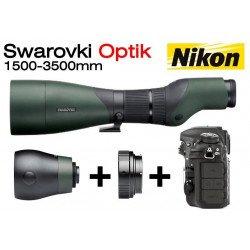 Kit Objectif 1500 mm Swarovski pour Reflex Nikon