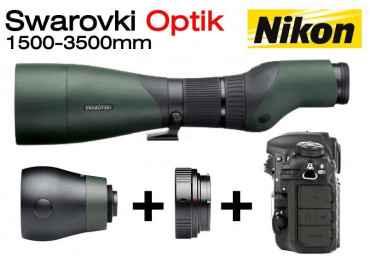 Kit Objectif 1500-3500 mm Swarovski pour Reflex Nikon Optique Swarovski