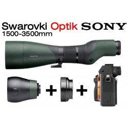 Longue-vue STX 30-70x95 - Swarovski + Kit Reflex Sony - E Mount