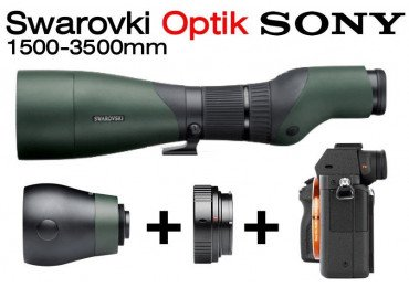Kit Objectif 1500-3500 mm Swarovski pour boitier Sony Optique Swarovski