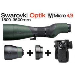 Kit Objectif 1500 mm Swarovski pour Reflex MFT