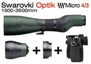 Optique Swarovski 1500-3500 mm + Kit Micro 4/3 Optique Swarovski