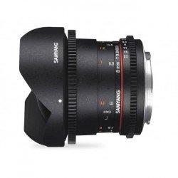 Objectif Samyang 8mm VDSLR T3.8 CSII MKII - Canon