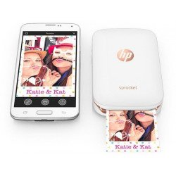 HP Sprocket - Imprimante Photo pour smartphone et Iphone Imprimante Smartphone