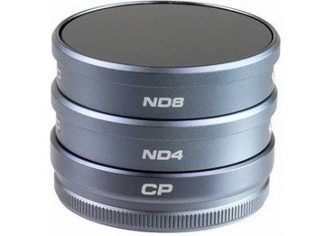 Kit filtre Polar Pro - Phantom 4 - CPL + ND4 +ND8