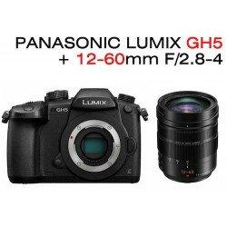 Pack Lumix DMC GH5 + 12-60mm F2.8-4 H-ES Leica OIS Pack VidŽo