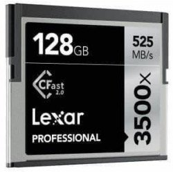 location carte mémoire Lexar CFast 2.0 128GB 3500x Professional