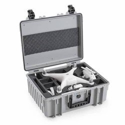 Fly Case pour Phantom 4 - B&W Copter Case Type 6000/G gris Flight Case