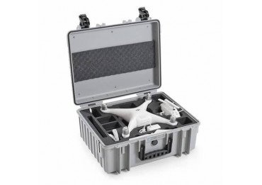Fly Case pour Phantom 4 - B&W Copter Case Type 6000/G gris