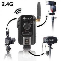 Systeme Aputure Tigmaster plus 2,4G - X4 Télécommande