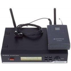 système complet de sonorisations avec micro-cravate sans fil bande B - Sennheiser S-XSW-12 Matériel d'Animation