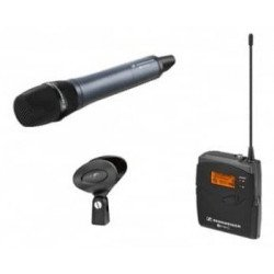 Micro sans fil + récepteur pour caméra vidéo - Sennheiser EW 135-p G3 Micro Cravate