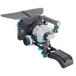 Cross d'épaule complète avec Mattebox et follow focus - Rig FOTGA DP500 III Follow focus & Mattebox