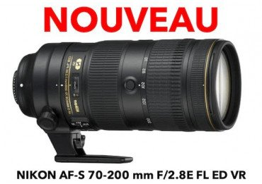 Location NIKON 70-200 mm AF-S F/2.8GE FL ED VR - Objectif photo