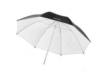 Location Parapluie noir / blanc 84cm - Walimex Reflex